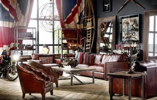 """"""" Гостиная путешественника"""" - в дизайне комнаты использованы элементы декора из разных стран"""