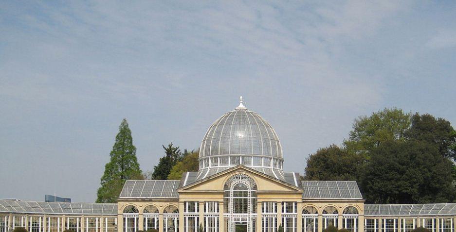 Оранжерея Сайон - хауса в окрестностях Лондона, построенная в 1828 - 1830 годах