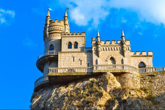 """Замок """" Ласточкино гнездо"""""""