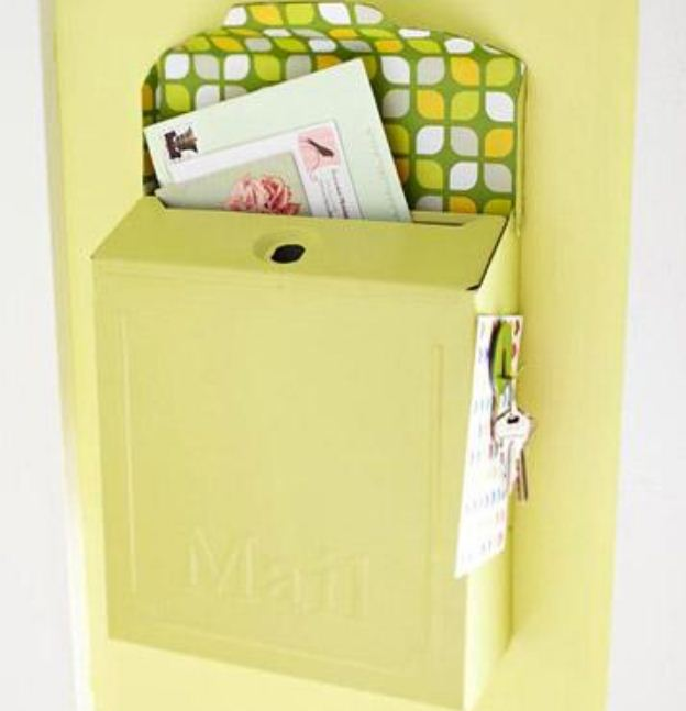Почтовый ящик для хранения квитанций