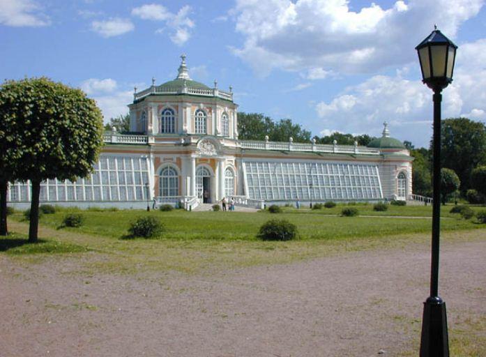 Оранжерея в Кусково ( XVIII век)