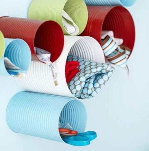 Емкости для хранение швейных принадлежностей