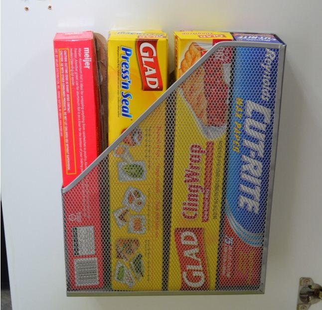 Коробка для журналов на кухне