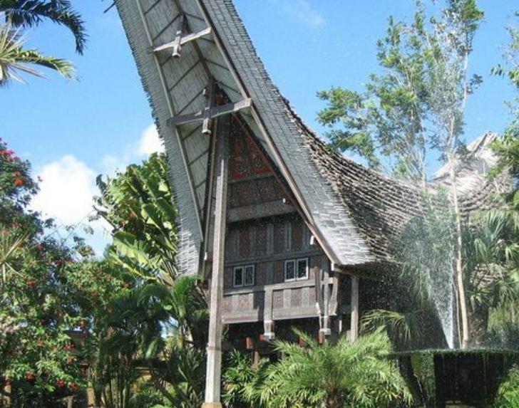 Дом представителя племени тана тораджа