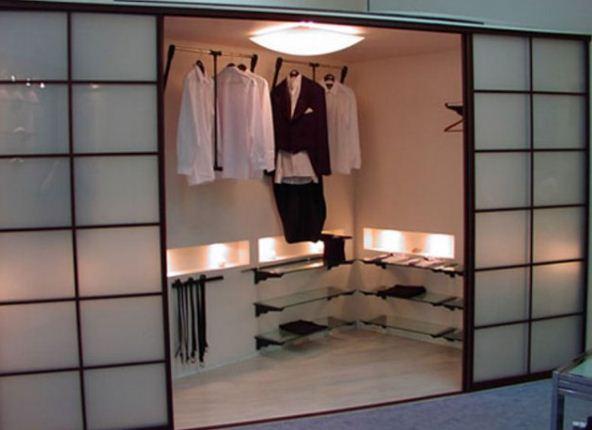 Встроенная мебель для спальни