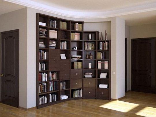 Встроенные шкафы позволяют сэкономить много места