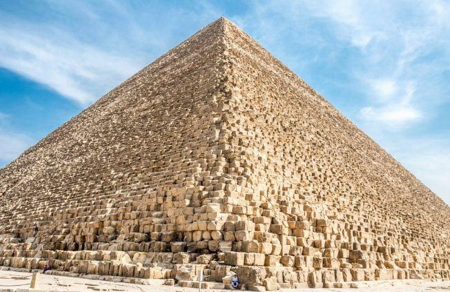 Пирамида Хеопса в наши дни