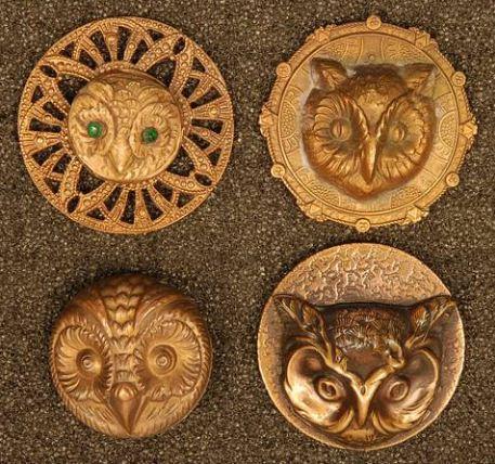 Старинные пуговицы необычной формы часто используются в роли талисмана