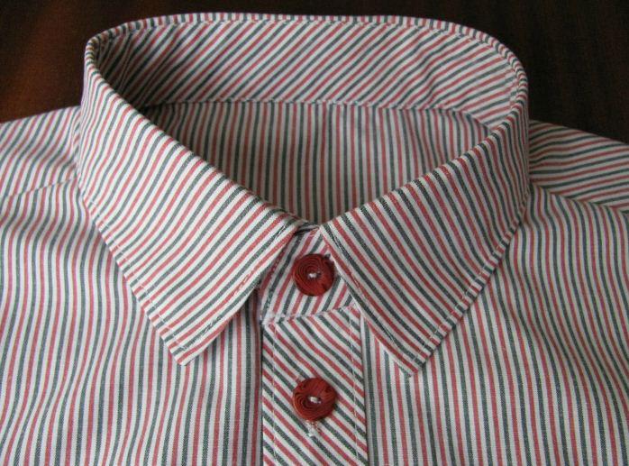 Рубашка с застежкой на пуговицах