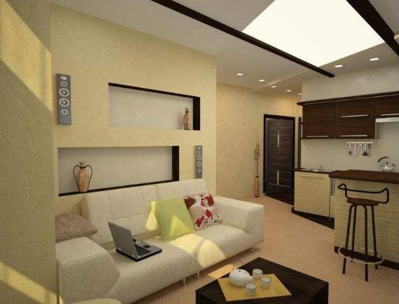 Однокомнатная квартира - студия