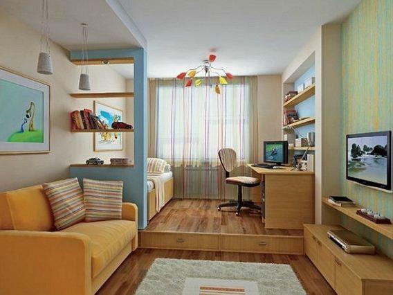 Дизайн однокомнатной квартиры - брежневки