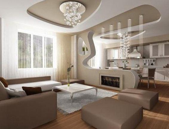 Стильный дизайн современной квартиры