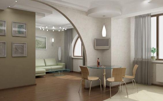 Дизайн однокомнатной малогабаритной квартиры