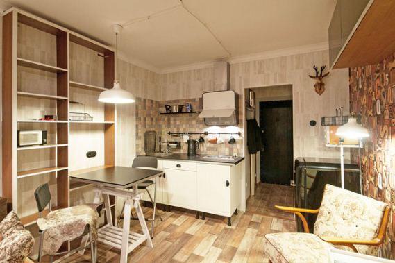 Дизайн квартиры гостиничного типа