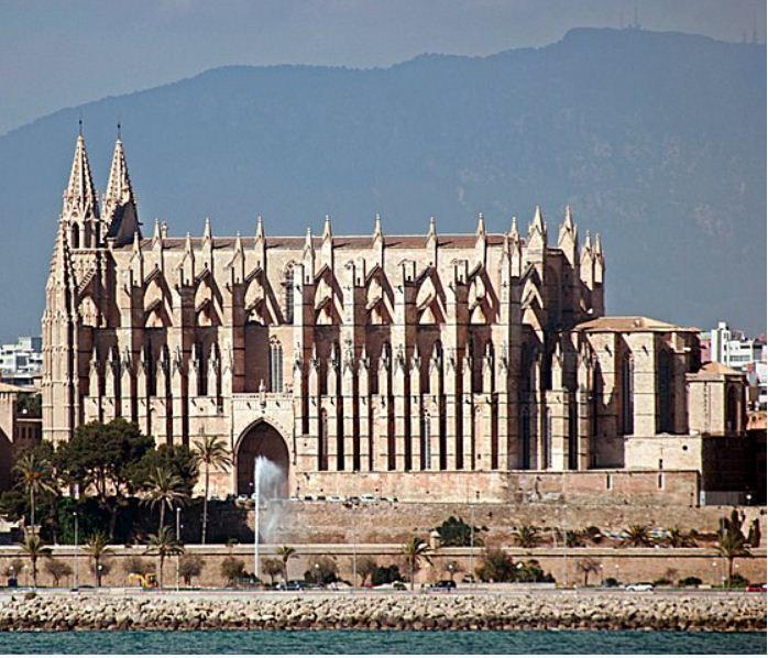 Кафедральный собор в Пальма де Мальорка