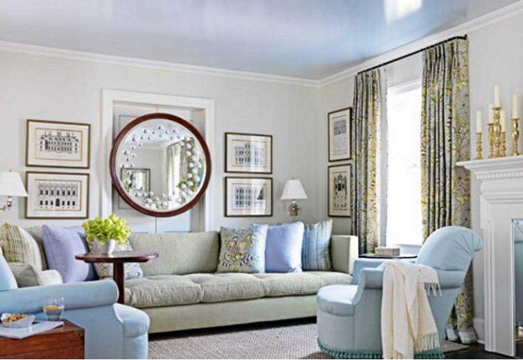 Зеркала круглой формы не только гармонично смотрятся в интерьера, но и удваивают позитивную энергетику