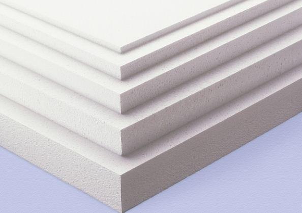Листы пенопласта различной толщины