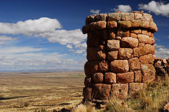 Чулпа Жачуку на юге Перу