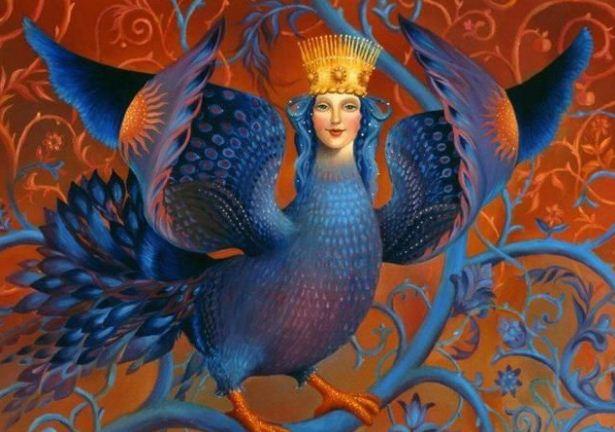 Сирин - славянская птица счастья