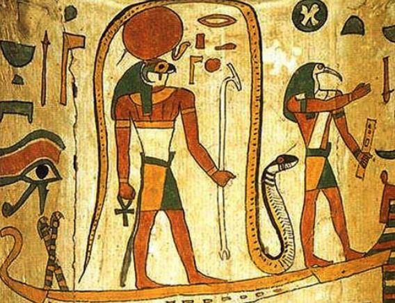 Бог Амон - Ра в древнеегипетской мифологии