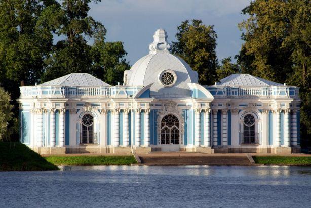 Грот в Екатерининском парке ( Царское Село)