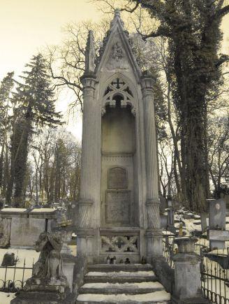 Надгробие в виде каплички