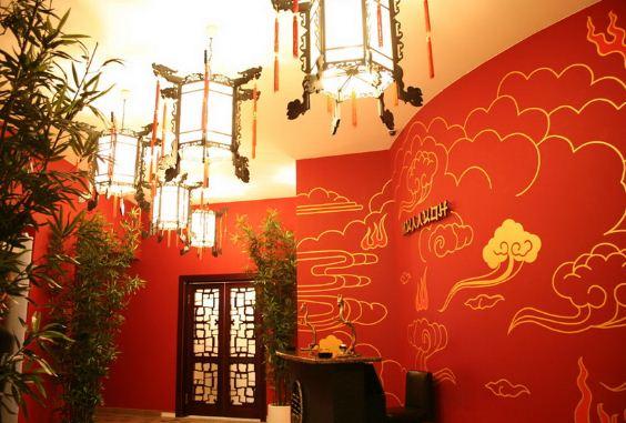 Оформление ресторана в китайском стиле