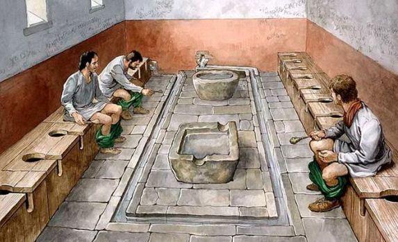 Общественные римские туалеты