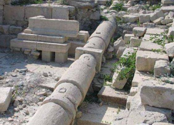 Устройство древнейшей канализации