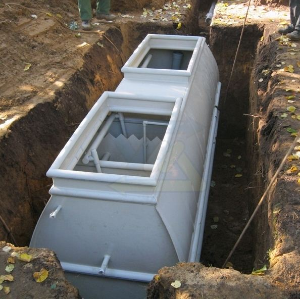 Септик - бокс - автономная канализация на дачном участке