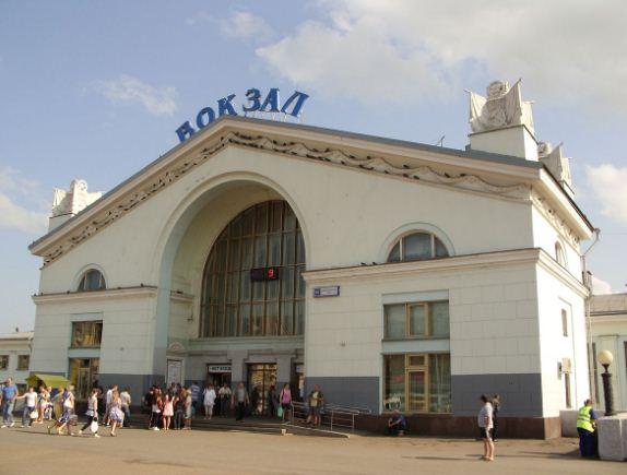 Кировский железнодорожный вокзал