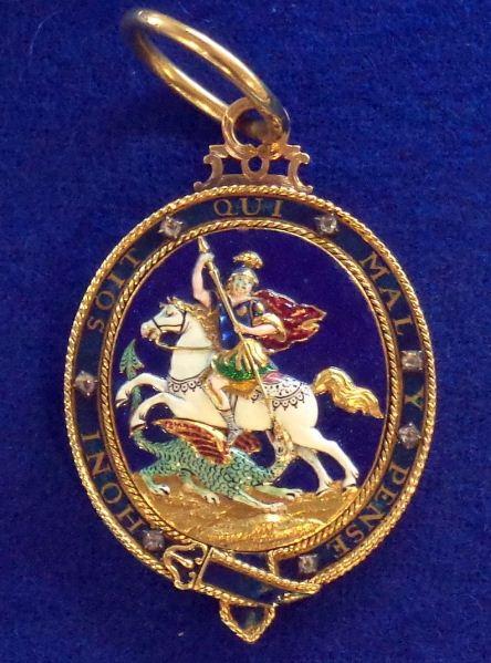 Орден Подвязки - знак Великобритании