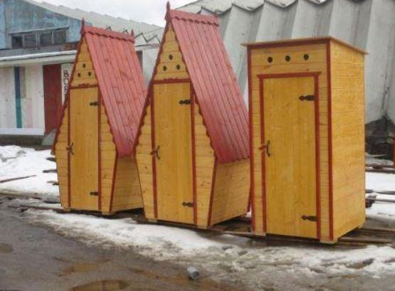 Дачный туалет, построенный своими руками