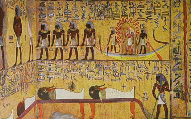 Обряд погребения у египтян