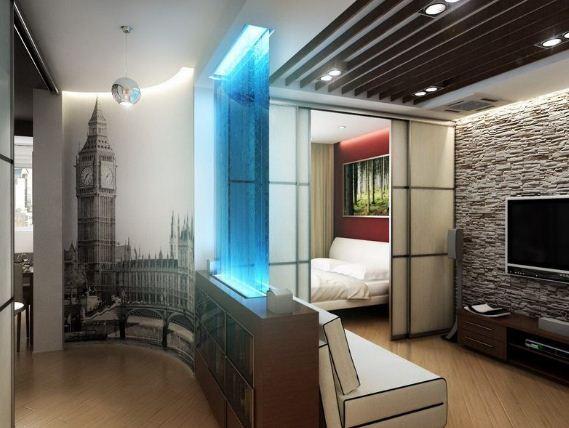 В квартирах свободной планировки легко воплотить самые смелые идеи дизайна
