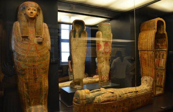 Египетские саркофаги хорошо сохранились до наших дней