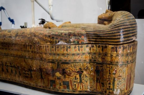 Египетские саркофаги на острове Искья ( Италия)