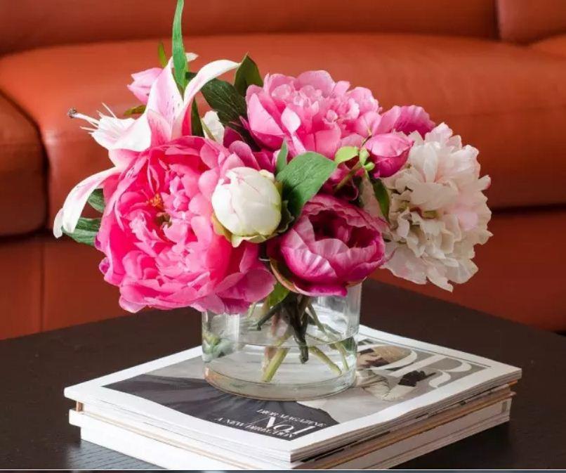 Современные искусственные цветы очень трудно отличить от настоящих