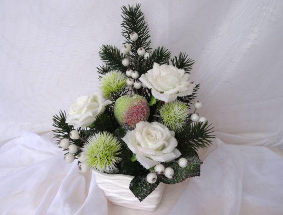 Современные искусственные цветы изготовлены из гипоаллергенных материалов