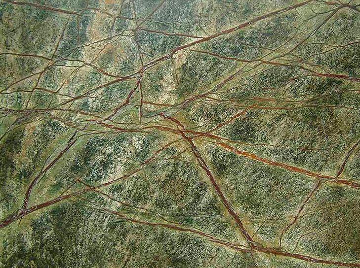 Зеленый мрамор, сорт Rain Forest Green