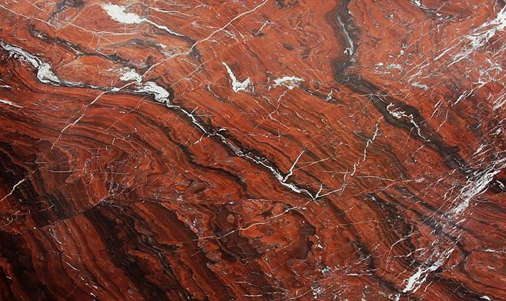Сорт красного мрамора Mar Rosso