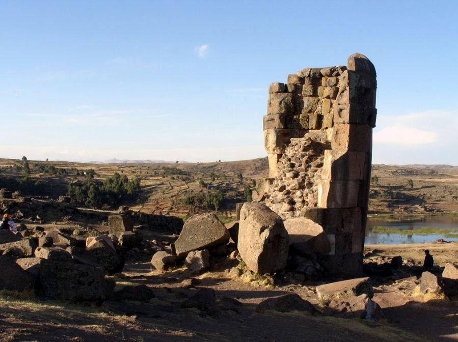 руины древней чульпы