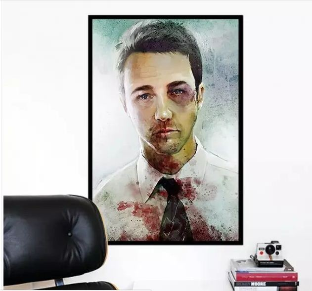 Постер с изображением героев фильмов или актеров не выходит из моды вот уже третье десятилетие