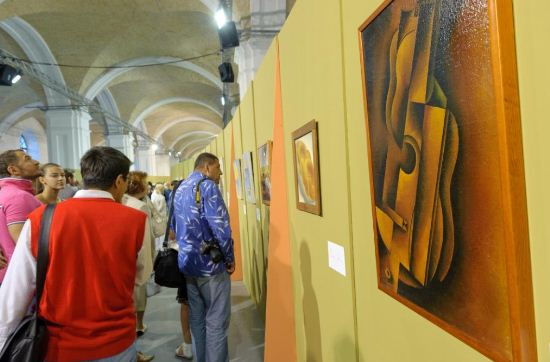 Выставка работ художника - конструктивиста Василия Ермилова