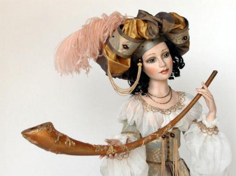 Авторские куклы работы мастера Светланы Никульшиной стоят весьма недешево
