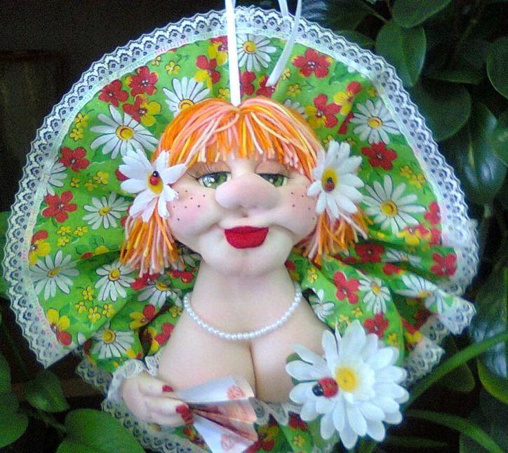Красавица - кукла из капроновых колготок