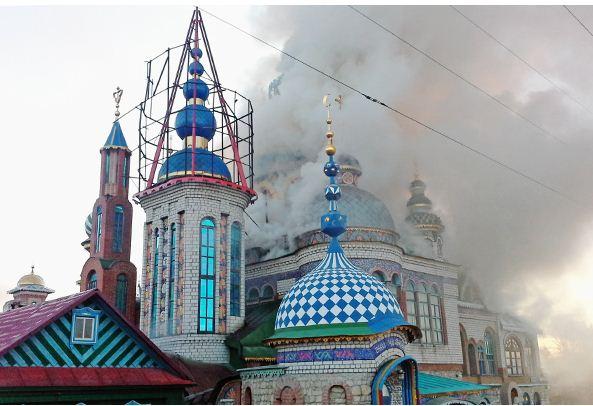 Пожар во Вселенском храме