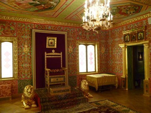 Комната в царском дворце XVII века