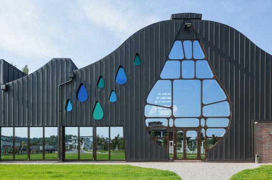 Арт - объект Waves - первый дом по проекту Гаэтано Пеше в России
