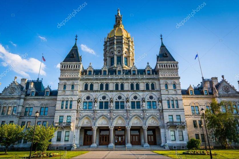 Капитолий штата Коннектикут в Хартфорде